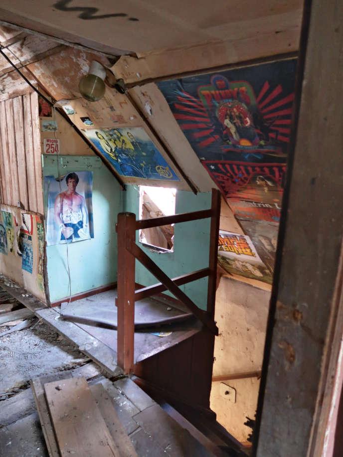 Dans une maison abandonnée de Neuzelle, dans le land du Brandebourg. Photo issue du livre« Urbex RDA», de Nicolas Offenstadt.