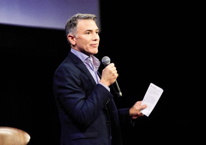 Ricky Strauss, dirigeant de Disney+, le 18 octobre à Hollywood (Californie).