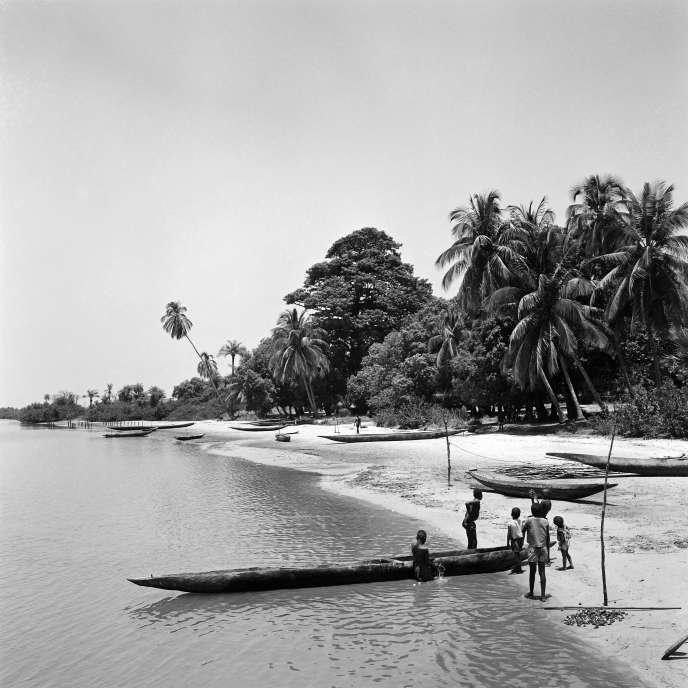 A Elinkine, en Casamance, dans les années1960.