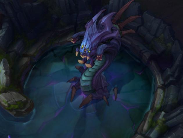 Le baron Nashor est l'un des monstres neutres les plus puissants du jeu.