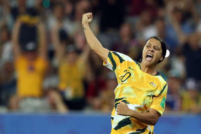 Lors du Mondial en juin en France, l'attaquante Samantha Kerr et ses coéquipières de l'équipe australienne avaient été éliminées en huitièmes de finale par la Norvège.