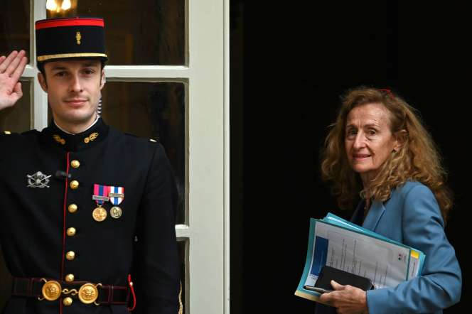 Nicole Belloubet, ministre de la justice, à l'hôtel Matignon, le 6 novembre 2019.