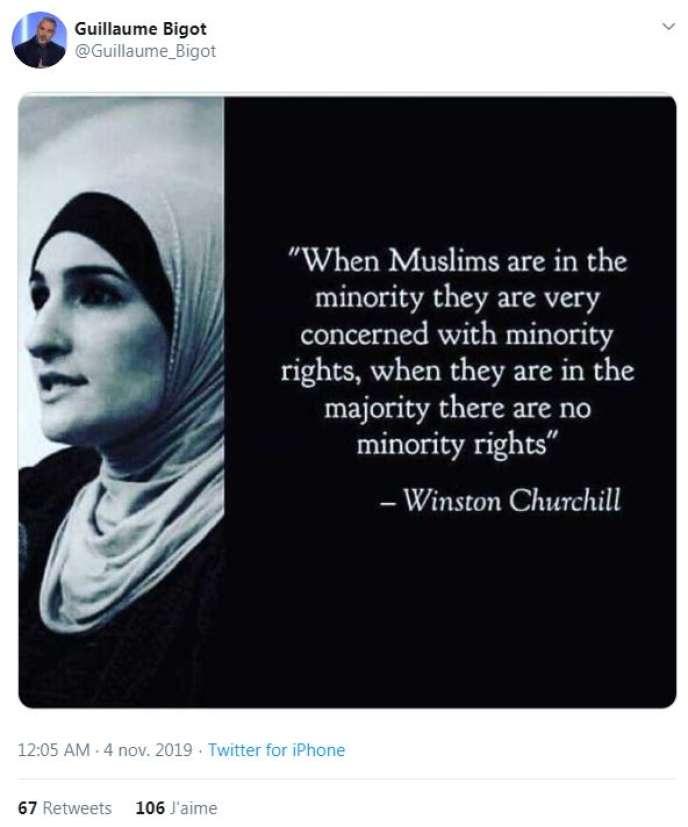 Churchill Et Sa Pretendue Citation Sur Les Musulmans Un Montage