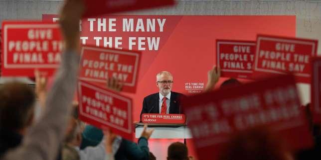 Royaume-Uni : Corbyn lance la campagne travailliste en promettant de résoudre le Brexit «en six mois»