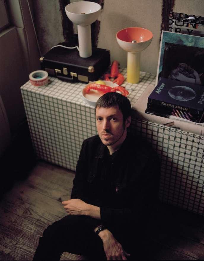 SebastiAn, chez lui, à Paris, le 27 septembre.