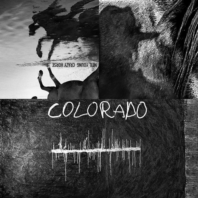 Pochette de l'album« Colorado», de Neil Young et Crazy Horse.