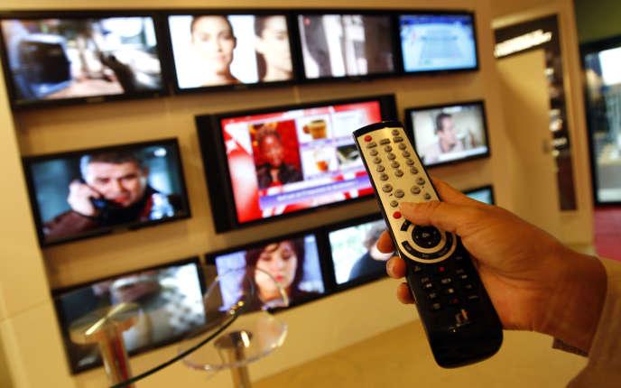 A Cannes, en 2010. La redevance audiovisuelle a rapporté 3,2milliards d'euros nets en2018.