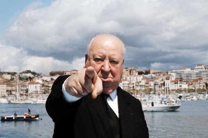 Alfred Hitchcock à Cannes en mai1972.