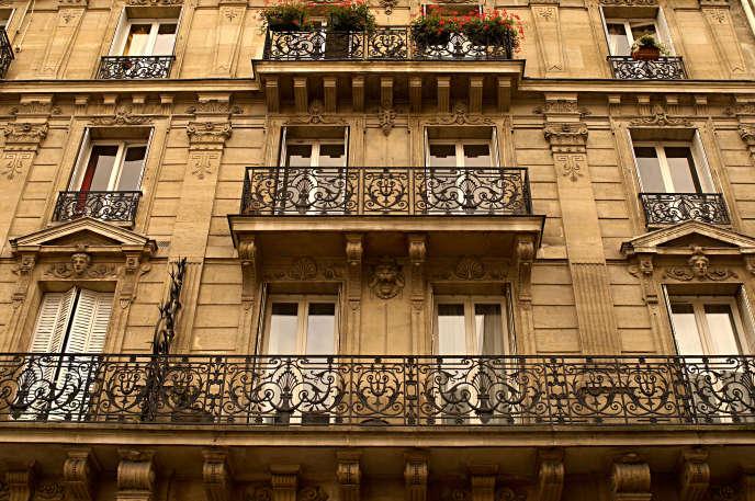 Un immeuble à Paris