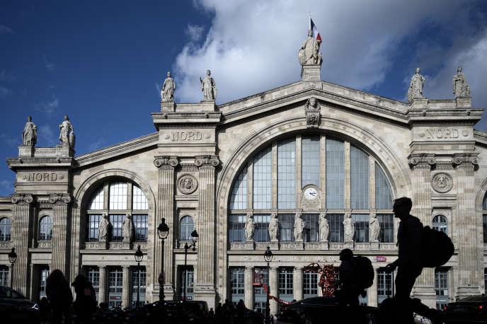 La façade de la gare du Nord, à Paris, le 10 octobre.