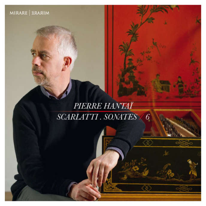 Pochette de l'album« Scarlatti. Sonates/6 », par Pierre Hantaï.