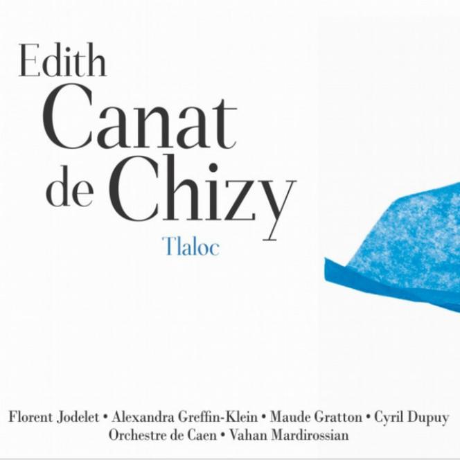Pochette de l'album« Tlaloc», d'Edith Canat de Chizy