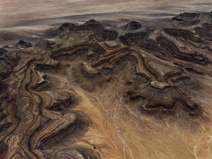 Tsaus Mountains #1, Sperrgebiet, Namibie, 2018, d'Edward Burtynsky.
