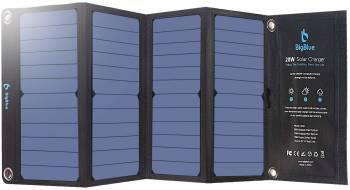 Le meilleur chargeur solaire mobile Chargeur solaire portable BigBlue 28W