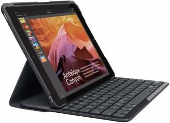 Le meilleur étui clavier pour iPad traditionnel Le Slim Folio de Logitech