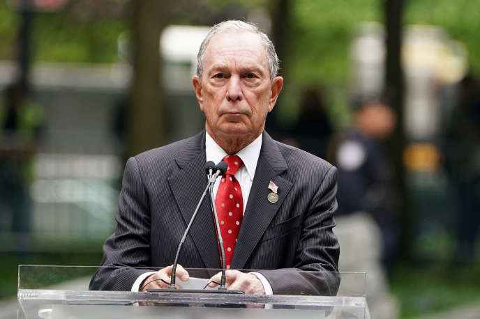 Michael Bloomberg à New York en mai.