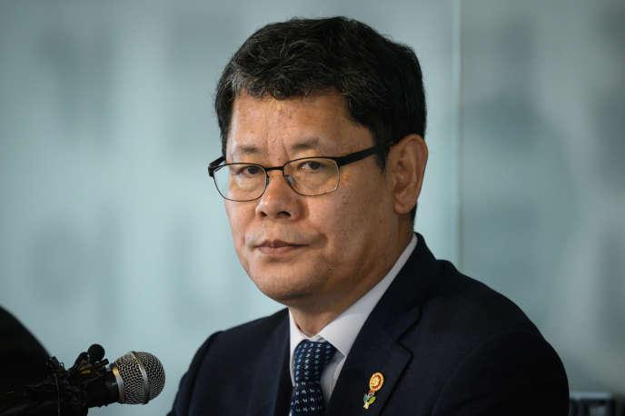 Le ministre sud-coréen de l'unification, Kim Yeon-chul, en juin 2019 à Séoul.
