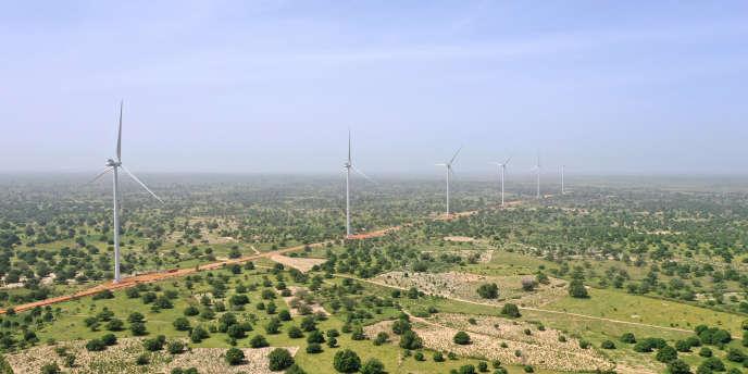 Trang trại gió Taiba Ndiaye, Sénégal, ngày 23 tháng 10 năm 2019.