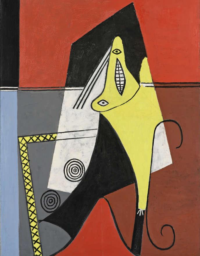« Femme dans un fauteuil [Figure]» (1927), dePablo Picasso, huile sur toile.