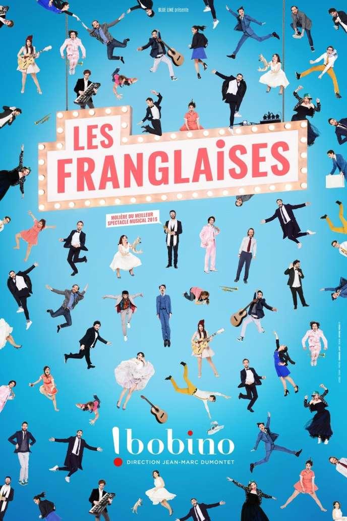 Poster của chương trình Franglais, Bobino.