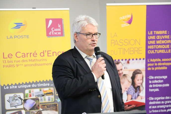 Frédéric Morin, directeur adjoint de Phil@poste.