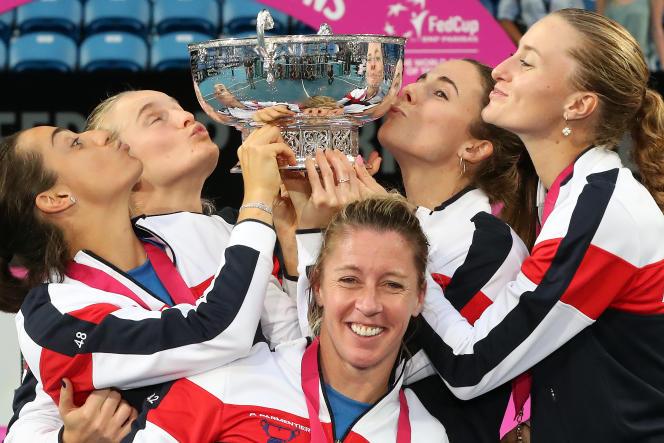 L'équipe de France s'est imposée 3-2, en finale de Fed Cup, contre l'Australie, dimanche 10 novembre, à Perth.