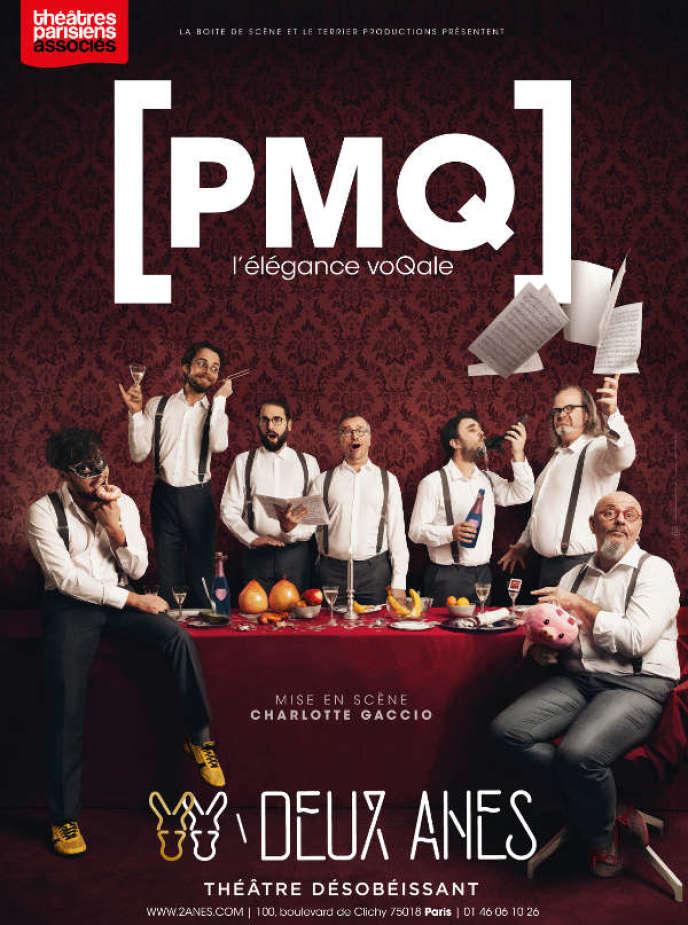 """Poster của chương trình """"Volegance voQale"""", từ nhóm PMQ."""