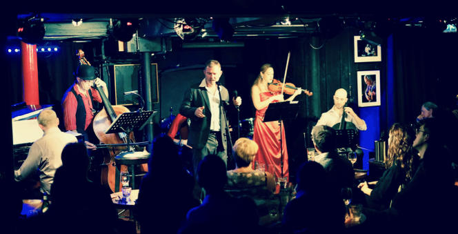 London Tango Orchestra. Londres, le 22 octobre 2018