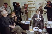 Le 6 octobre 1989, Le cinéaste américain Elia Kazan dans l'émission Apostrophe présenté par Bernard Pivot.