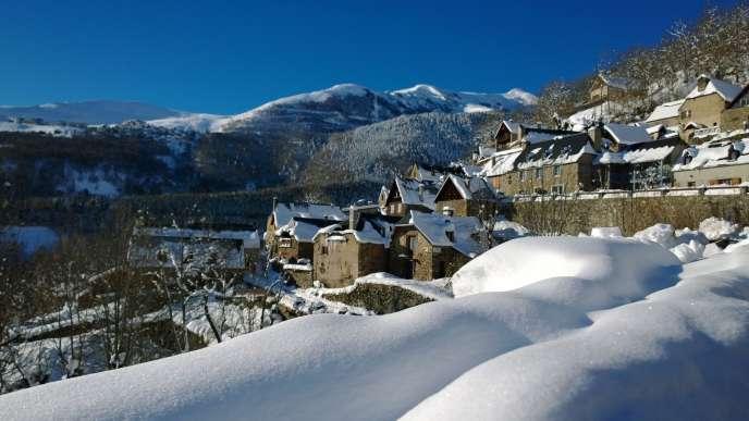Le village de Saint-Lary-Soulan (Hautes-Pyrénées).