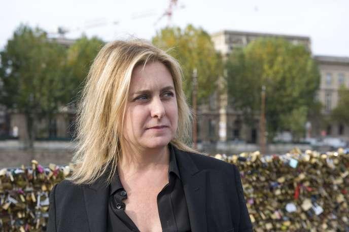 Chiara Parisi, à Paris, en octobre 2016.