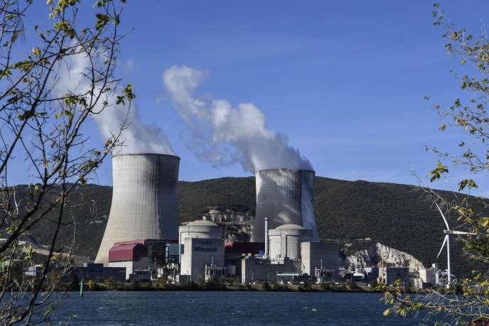L'épicentre du séisme de lundi estsituéà 23 kilomètres de la centrale nucléaire de Cruas-Meysse, sur le Rhône. Photo du site prise en octobre 2017.