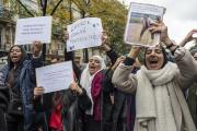 Marche contre l'islamophobie à Paris, le 10 novembre.