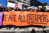 Manifestation à Los Angeles, le 12 novembre.
