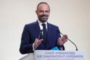 Le premier ministre Edouard Philippe lors d'une conférence de presse sur l'immigration et l'intégration, le 6 novembre à Paris.