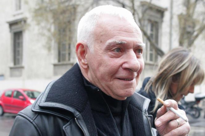 «Jacky le Mat», enjanvier2008, lors de son procès en appel, à Aix-en-Provence.