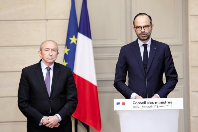 A l'issue du Conseil des ministres a l'Elysee, le 17 janvier 2018, le Premier ministre Edouard Philippea annoncé le retrait du projet de construction d'un nouvel aéroport sur le site de la ZAD de Notre Dame des Landes.