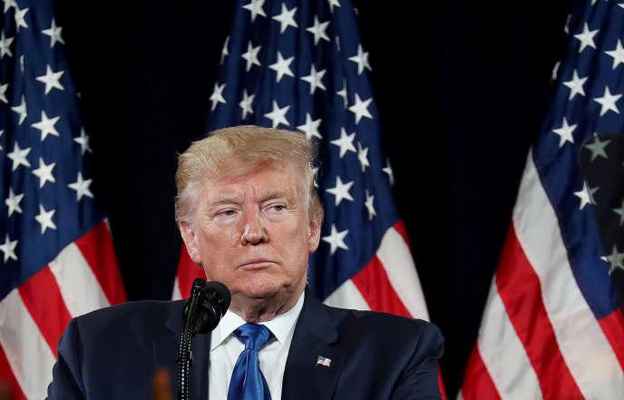 Donald Trump à Atlanta le 8 novembre.