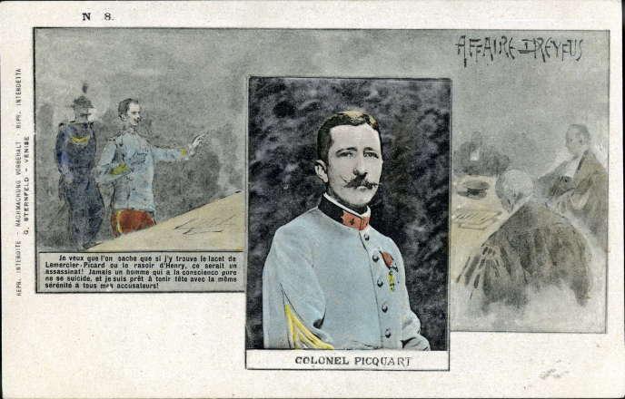 Autour de l'année 1900, le futur général Picquart est encore lieutenant-colonel.