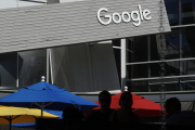 Au siège de Google, à Mountain View (Californie), le 24 septembre.