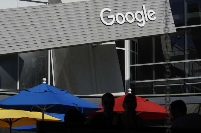Au siège de Google, à Mountain View (Californie), le 24 septembre.