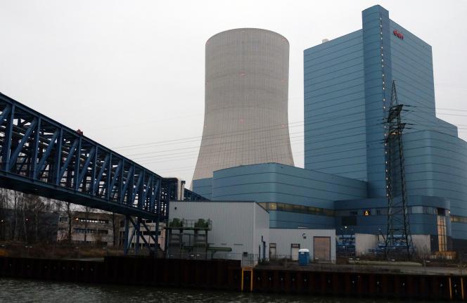 La centrale à charbon de Datteln, en Rhénanie-du-Nord-Westphalie, en décembre 2014, alors E.ON devenue Uniper en 2016.
