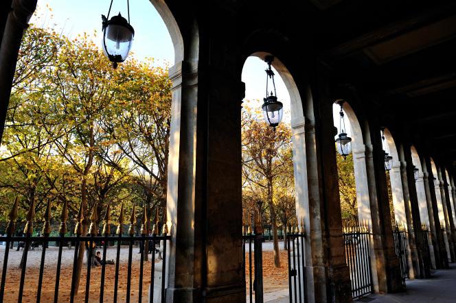 Jardin du Palais-Royal, Paris 2e.