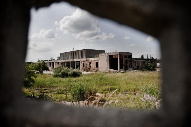 Un usine désaffectée, dans un faubourg de Bucarest, en2010.