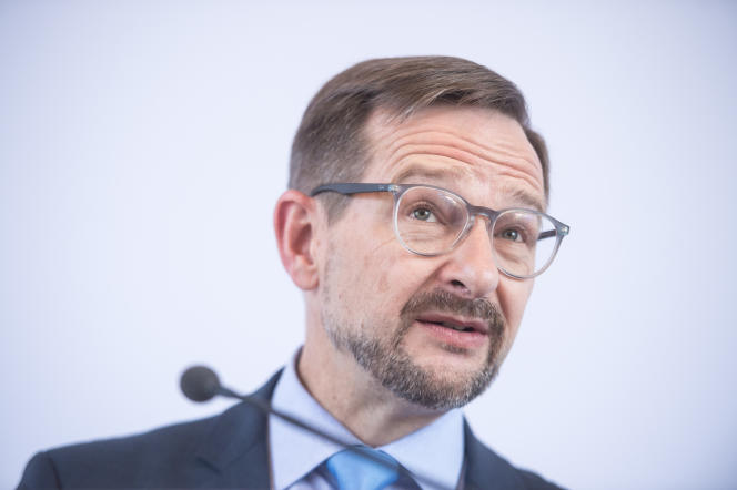 Le secrétaire général de l'OSCE, Thomas Greminger, le 9 juillet à Strbske Pleso, en Slovaquie.