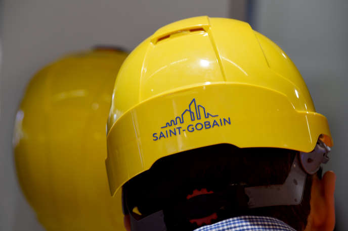 Le logo du groupe français Saint-Gobain.