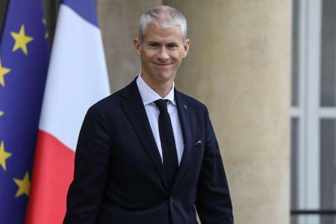 Le ministre de la culture, Franck Riester, le 13 novembre.