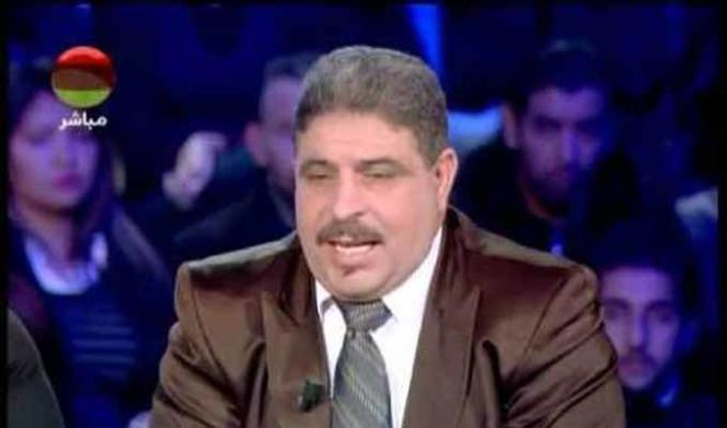 Zouheir Makhlouf. Capture d'écran d'une émission télévisée tunisienne.
