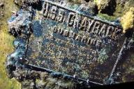 La plaque du «Grayback».