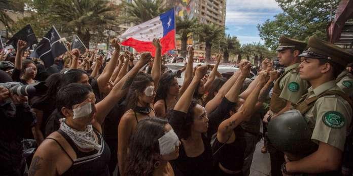 Au Chili, explosion de plaintes contre les forces de l'ordre pour violences sexuelles